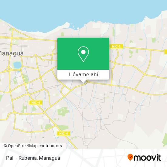 Mapa de Pali - Rubenia