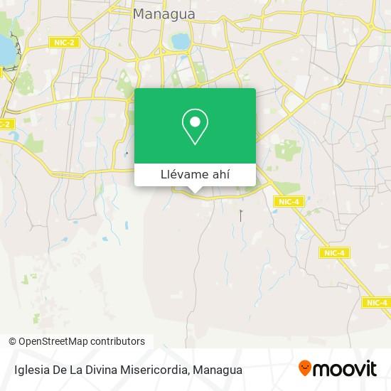 Mapa de Iglesia De La Divina Misericordia