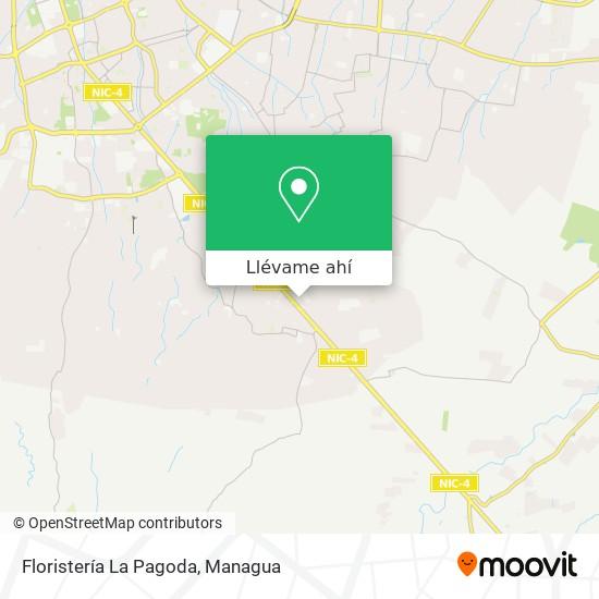 Mapa de Floristería La Pagoda