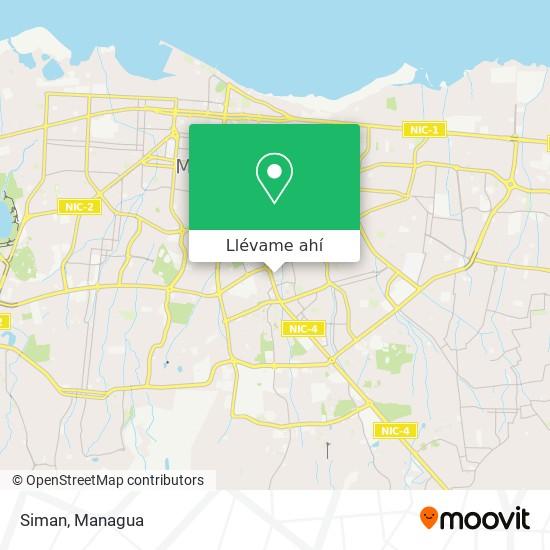Mapa de Siman