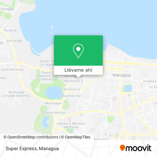 Mapa de Super Express