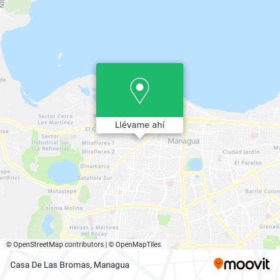 Mapa de Casa De Las Bromas