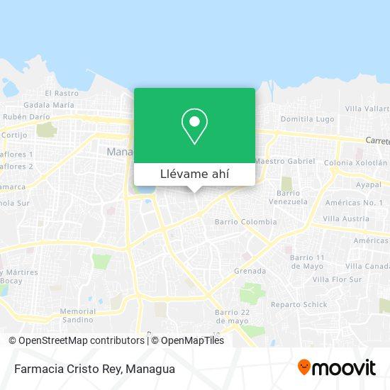 Mapa de Farmacia Cristo Rey