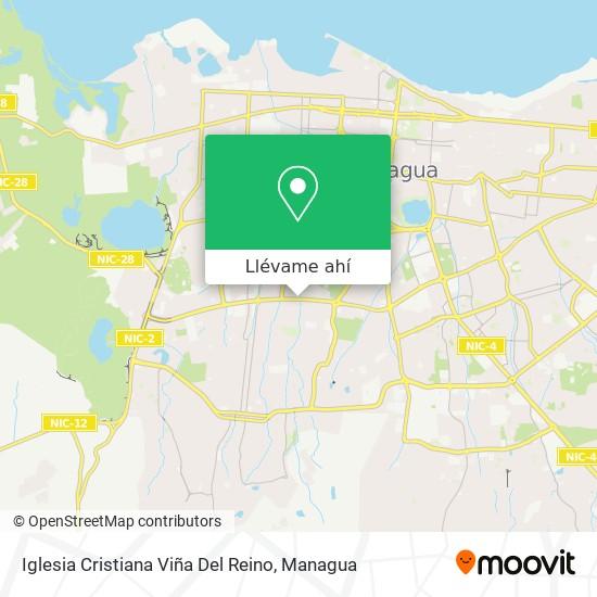 Mapa de Iglesia Cristiana Viña Del Reino