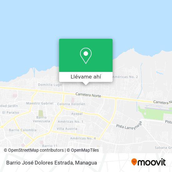 Mapa de Barrio José Dolores Estrada