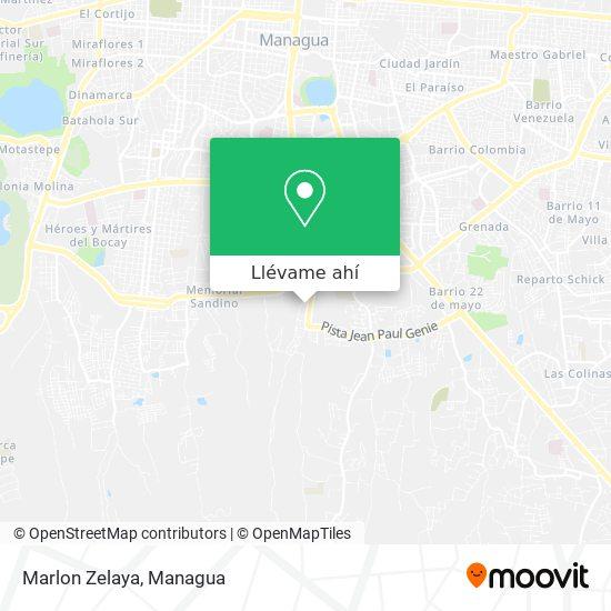 Mapa de Marlon Zelaya