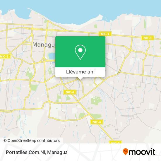 Mapa de Portatiles.Com.Ni