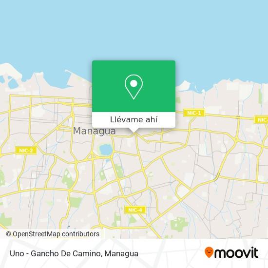 Mapa de Uno - Gancho De Camino