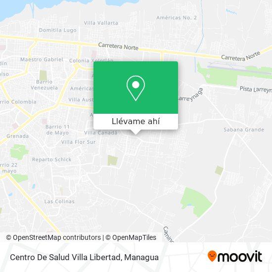 Mapa de Centro De Salud Villa Libertad