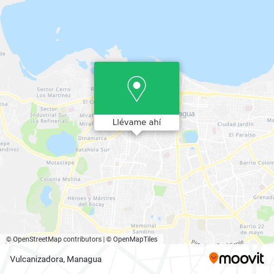 Mapa de Vulcanizadora