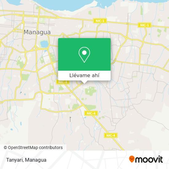 Mapa de Tanyari
