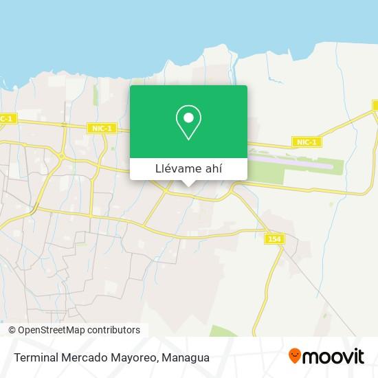 Mapa de Terminal Mercado Mayoreo