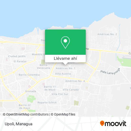 Mapa de Upoli