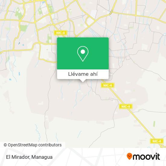 Mapa de El Mirador