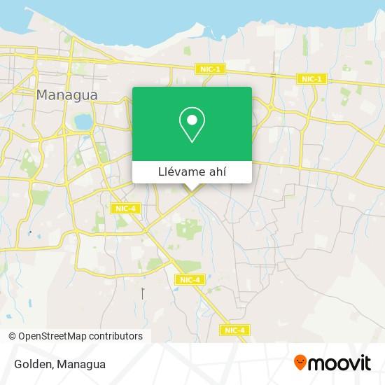 Mapa de Golden