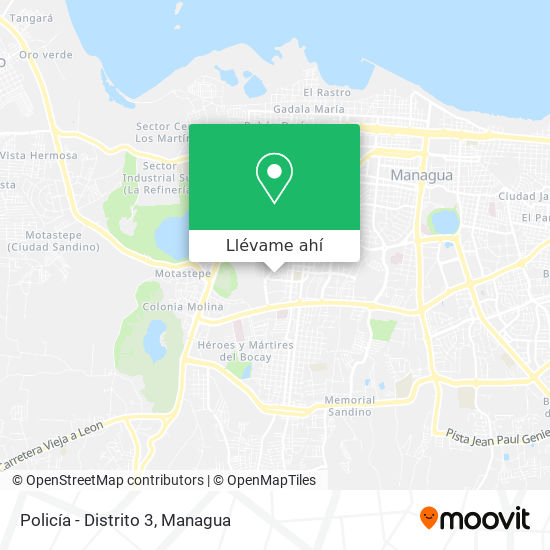 Mapa de Policía - Distrito 3