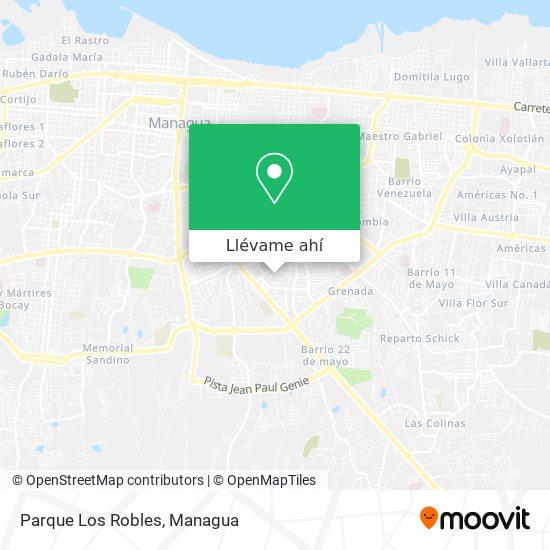 Mapa de Parque Los Robles