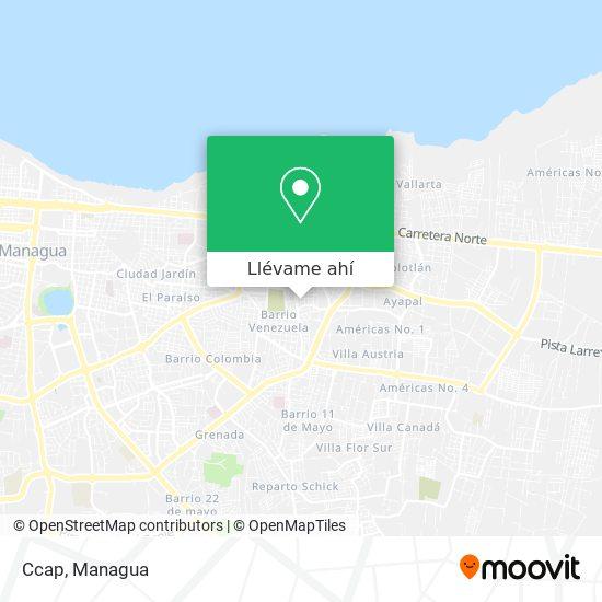 Mapa de Ccap