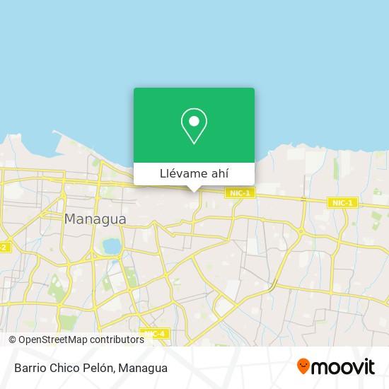 Mapa de Barrio Chico Pelón