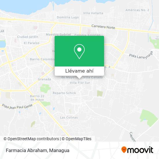 Mapa de Farmacia Abraham