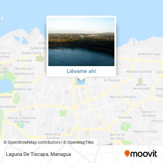 Mapa de Laguna De Tiscapa