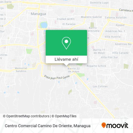Mapa de Centro Comercial Camino De Oriente