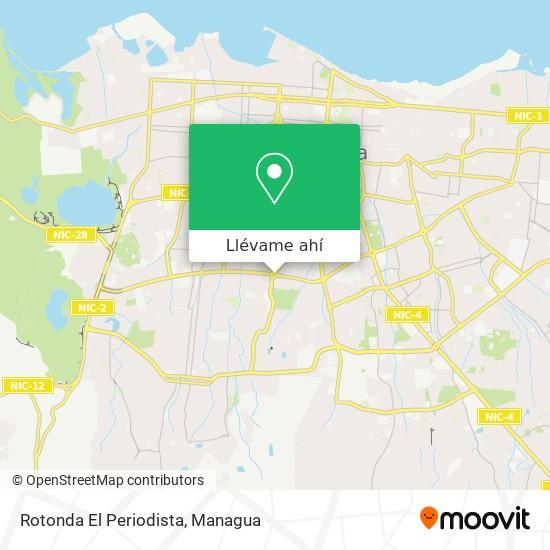 Mapa de Rotonda El Periodista
