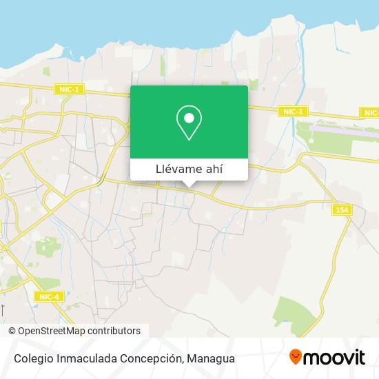 Mapa de Colegio Inmaculada Concepción
