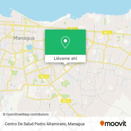 Mapa de Centro De Salud Pedro Altamirano