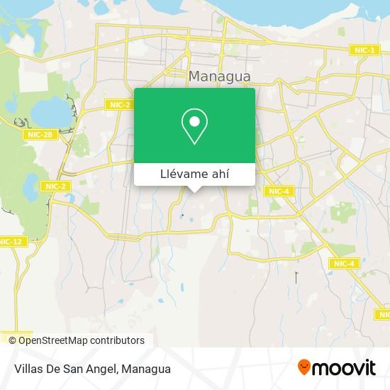 Mapa de Villas De San Angel
