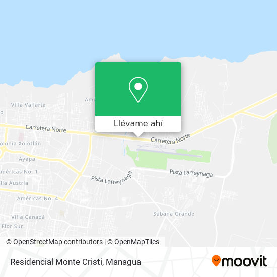 Mapa de Residencial Monte Cristo