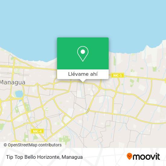 Mapa de Tip Top Bello Horizonte
