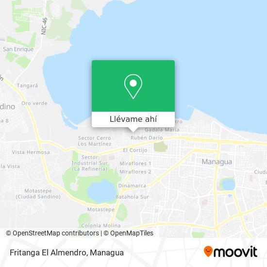 Mapa de Fritanga El Almendro