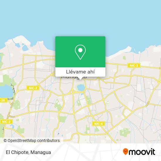 Mapa de El Chipote