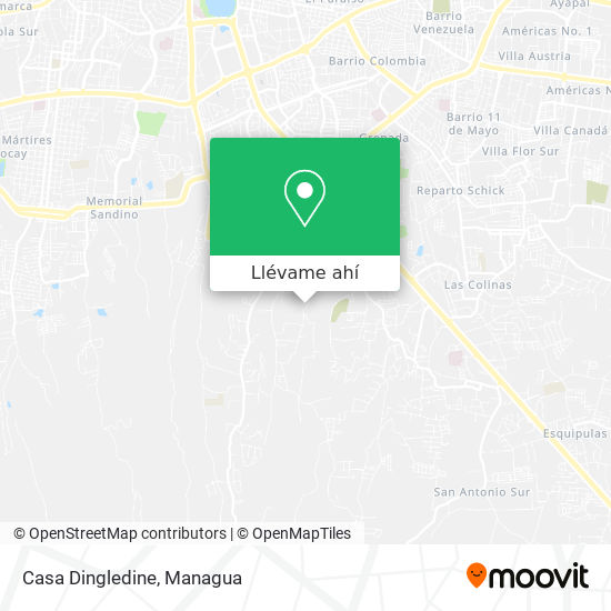 Mapa de Casa Dingledine