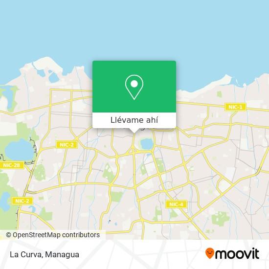 Mapa de La Curva