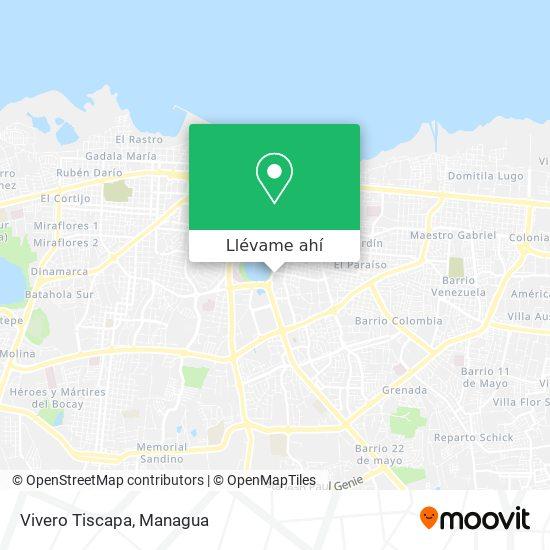 Mapa de Vivero Tiscapa