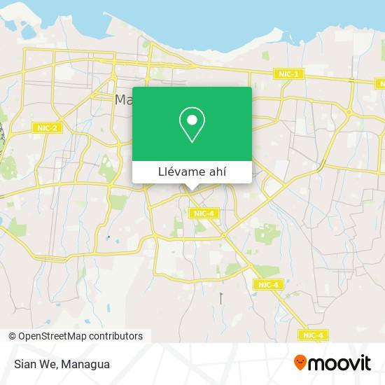 Mapa de Sian We