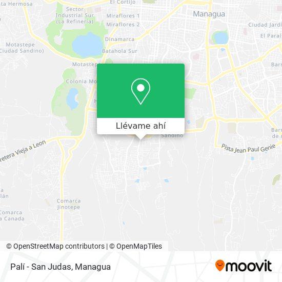 Mapa de Pali - San Judas