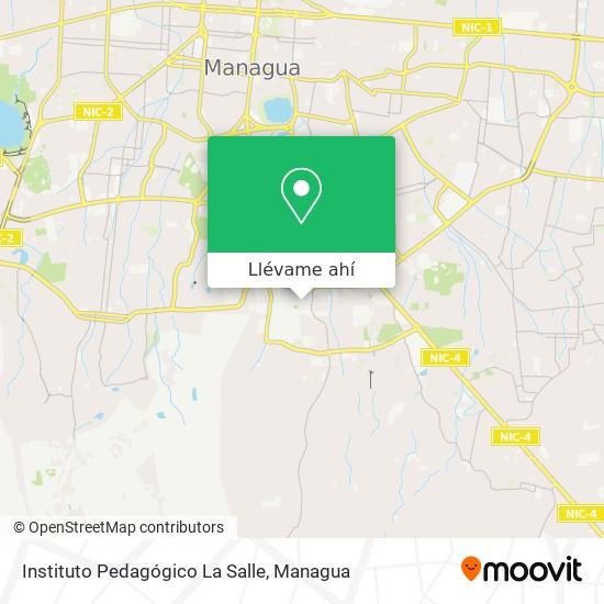 Mapa de Instituto Pedagógico La Salle