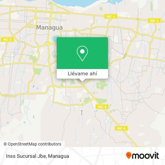 Mapa de Inss Sucursal Jbe