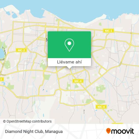 Mapa de Diamond Night Club