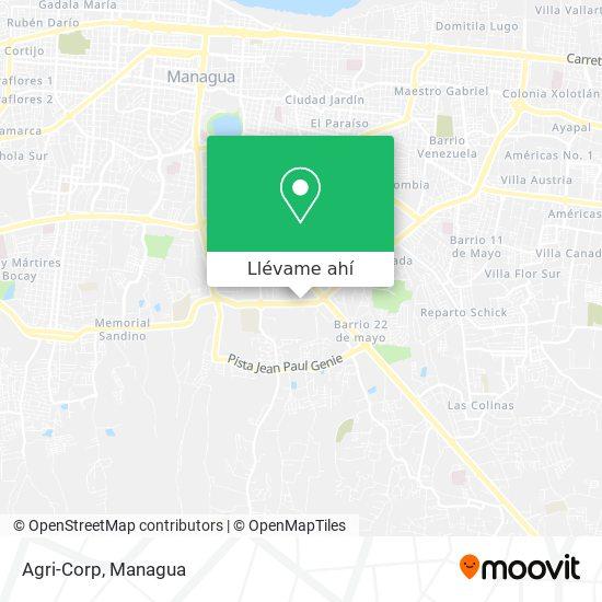 Mapa de Agri-Corp