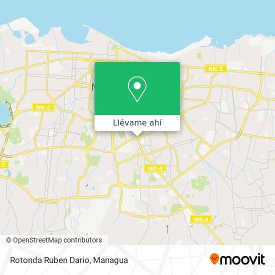 Mapa de Rotonda Ruben Dario