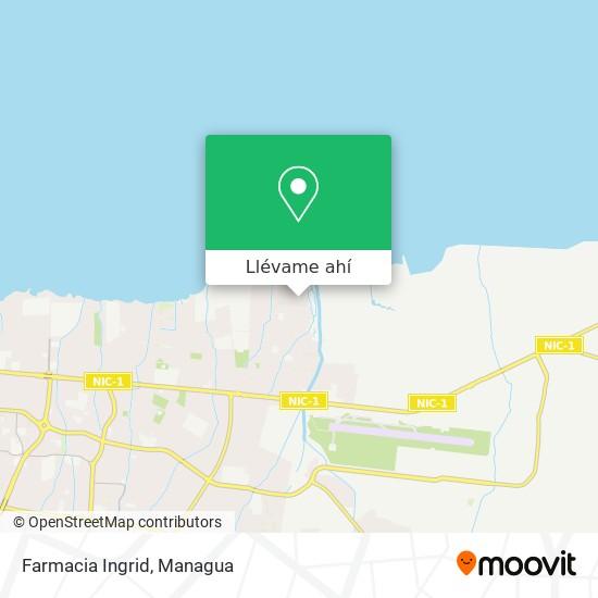 Mapa de Farmacia Ingrid