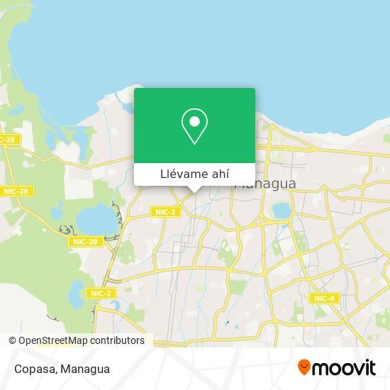 Mapa de Copasa