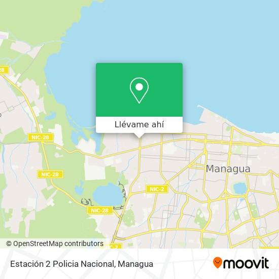 Mapa de Estación 2 Policia Nacional
