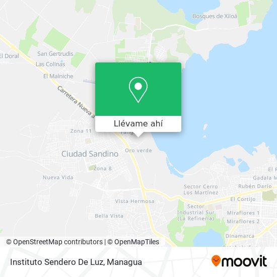 Mapa de Instituto Sendero De Luz