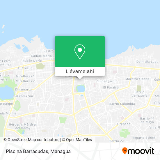 Mapa de Piscina Barracudas