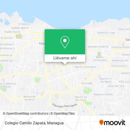 Mapa de Colegio Camilo Zapata